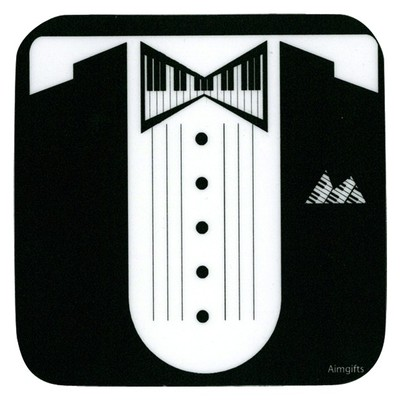 Coaster Aim Vinyl Keyboard Tux - Aim - 82435