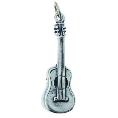 Charm Aim Silver Guitar - Aim - CH6