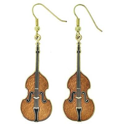 Earring Aim Bass Violin - Aim - E76
