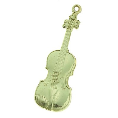 Keychain Aim Violin Polished Br - Aim - K74B