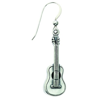 Earring Aim Silver Guitar - Aim - SE7