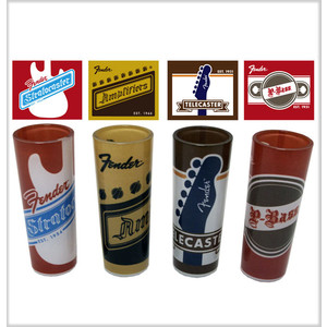 Fender Origins Shot Glasses - 4 Pack - Fender - 919-0540-102