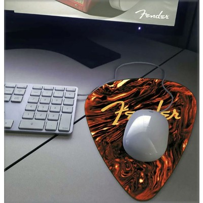 Fender Medium Pick Mouse Pad - Multi-Color - Fender - 919-0560-105