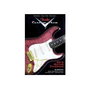 Fender Custom Shop 2012 16 Month Weekly Planner - Jannex - 12153