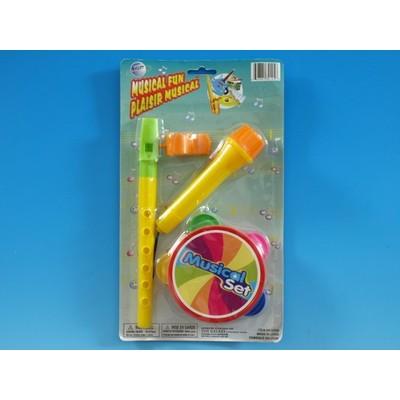 Musical Playset Toy Galaxy Children's Plastic 4 Piece - Toy Galaxy - 34125