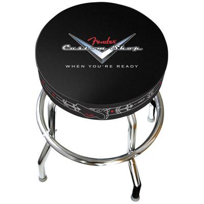 """Fender Custom Shop Pinstripe Barstool - 24"""" - Fender - 099-0230-020"""