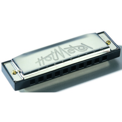 Hot Metal Harmonica - Diatonic C, 10 Hole - Hohner - 572BX-C