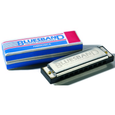 "Hohner Blues Band Harmonica - Diatonic ""C"" - Hohner - 1501BX"