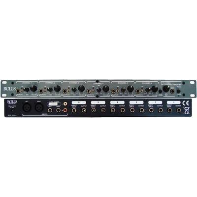 Headphone Amp Rolls RA62C 6 Ch 1U - Rolls - RA62C