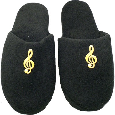 Slipper Aim G-Clef Black Size S-M - Aim - 37890SM