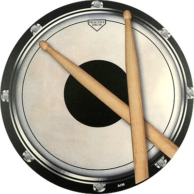 Mouse Pad Aim  Drum Practic Pad - Aim - 40027