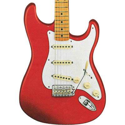 Mouse Pad Aim Electric Guitar Cut Out - Aim - 40498