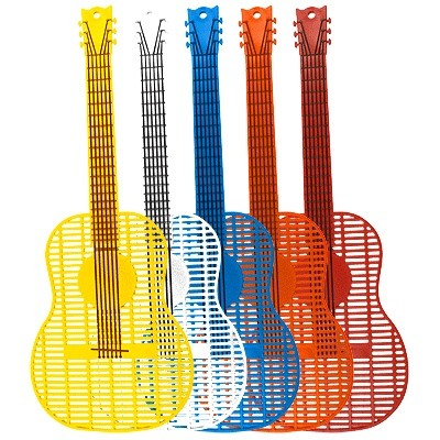 Flyswatter Aim Guitar  Small Asst Colors - Aim - 43201
