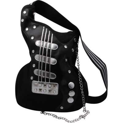 "Hand Bag Aim Handmade Guitar Crossbody in Canvas 35"" X 13"" - Aim - 78133"