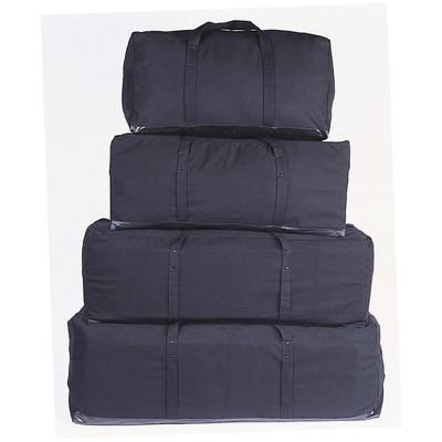 "Canvas Equipment Bag 48"" Black"