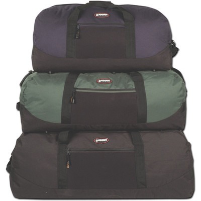 """Travel Duffle 36"""" Forest Green/Black"""