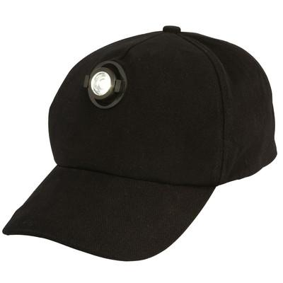 L.E.D Light Cap Black