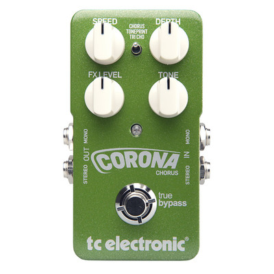 TC Electronic Corona Chorus Effect Pedal - TC Electronic - 960700001