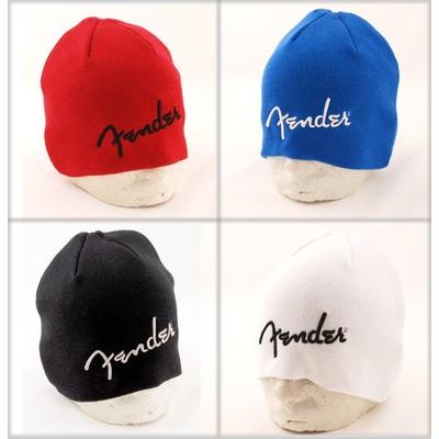Fender Logo Beanie - White - Fender - 910-6111-705