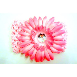 Flower Headband - Soft Pink