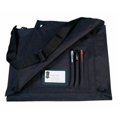 Levy's LVS Polyester Briefcase - Black - Levy's - LVS-BLK