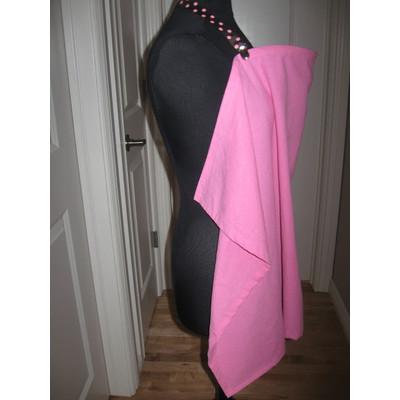 Pink Linen Breastfeeding Cover