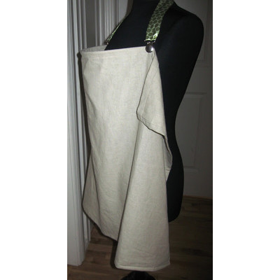 Maple Linen Nursing Cover, Organic