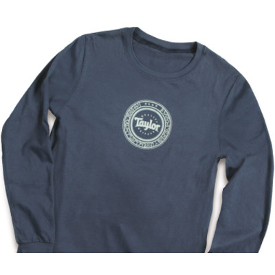 Taylor Zodiac Long Sleeve Shirt - Navy, 2XL - Taylor Guitars - Taylorware, Home and Gifts - 20008