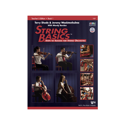 String Basics Book 1 with DVD - Conductor Score - Neil A. Kjos Company - 115F