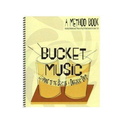 Music Bucket Music (Bucket Drumming) w/ CD - Talking Drum Music Productions - BUCKET1