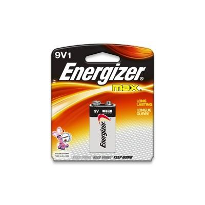 Energizer EN-522BP Max 9V Batteries - 1/Card - Energizer - EN-522BP (039800013613)