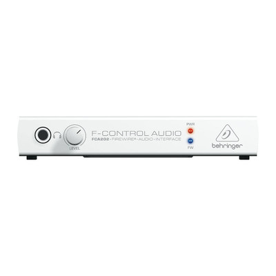 Behringer F-Control Audio FCA202 Audiophile Firewire Audio Interface - Behringer - FCA202