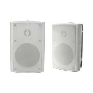 "OSD Audio AP450 Indoor / Outdoor High Performance 4"" Patio Speakers (White, Pair)"