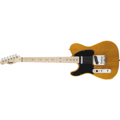 Squier Affinity Series Telecaster - Butterscotch Blonde, Maple Fingerboard, Left Handed - Squier - 031-0223-550