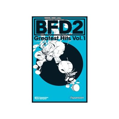 Software Fxpansion BFD2 Greatest Hits Vol. 1 - FXpansion - FXGHV001
