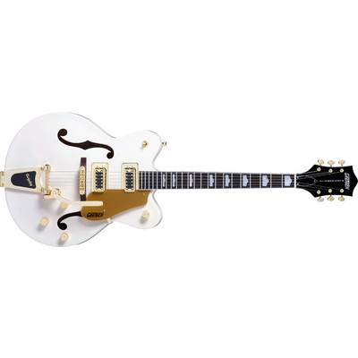 Gretsch G5422TDCG Electromatic Double Cutaway Hollow Body with Bigsby - Snow Crest White, Rosewood Fingerboard - Gretsch - 250-4814-567