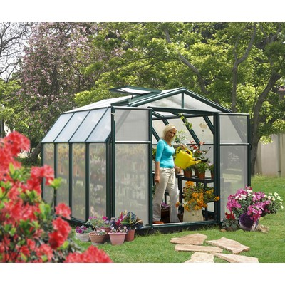"RION Premium Hobby Greenhouse - 8' 6"" x 8' 6"""