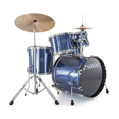 Drum Kit Sonor Smart Force Studio 10/12/14/20 Br Blue w/Hw - Sonor - SFX11-STUDIO-13004