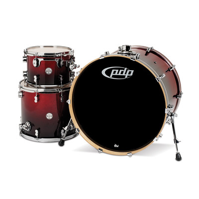 PDP Concept Maple Shell Pack - 24/12/16 - Red/Black - PDP - PDCM2413RB
