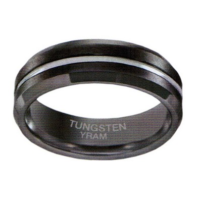 7mm Tungsten centre line Beveiled ege