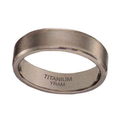 6mm Titanium Beveiled