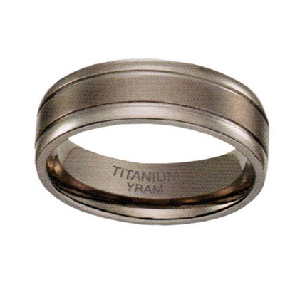 7mm Titanium Double line