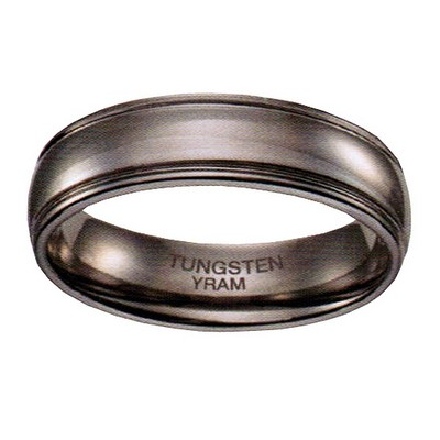 7mm Tungsten 2 lines Tiffany