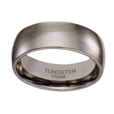 8mm Tungsten Half Round