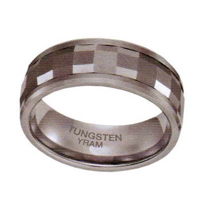 8mm Tungsten Faceted Spinning