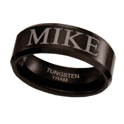 8mm Black Tungsten choice of name