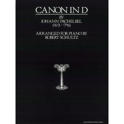 Music Pachelbel Canon in D (transcribed Schultz)(PA) - Alfred Music - 00-0155CP1X