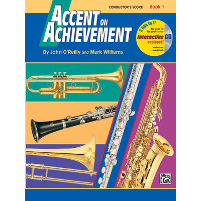 Accent on Achievement Book 1 - Conductor - Alfred Music - 00-17101