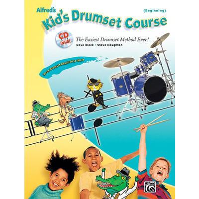 Music Alfreds Kids Drumset Course 1 w/CD