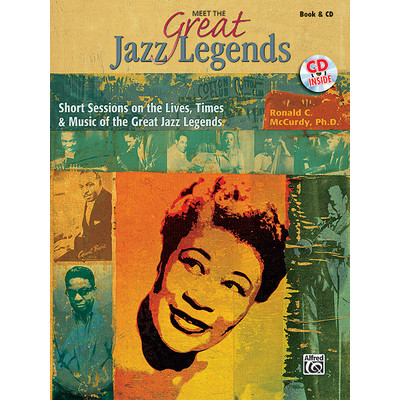 Music Meet the Great Jazz Legends - Book, CD, Reproducibles - Alfred Music - 00-32180